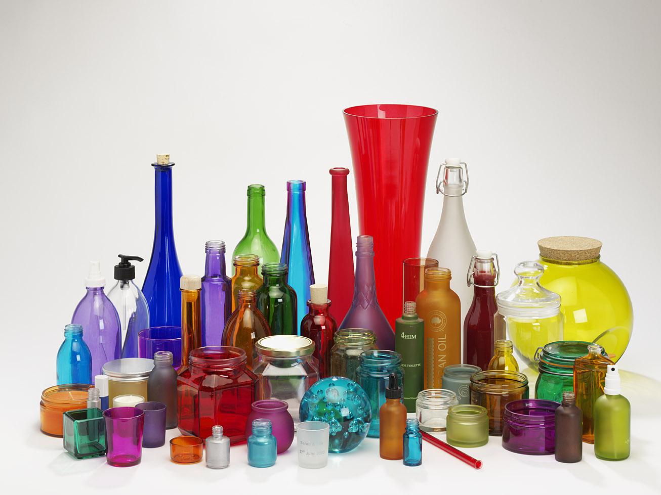 Cheap Decorative Glass Bottles